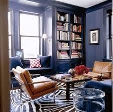 suzie angie hranowski chic blue u0026 green den with blue walls