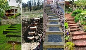Ideas Garden The Best 23 Diy Ideas To Make Garden Stairs And Steps Amazing