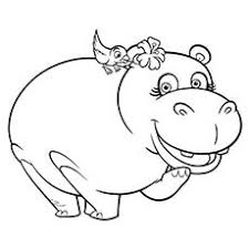 coloring page for toddlers 10 cute free printable hippo coloring pages for toddlers