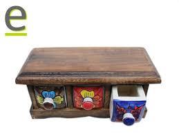 portaspezie legno portaspezie legno shop portaspezie con cassetti in ceramica