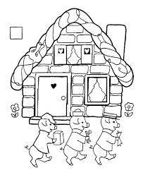 tale pigs coloring pages batch coloring