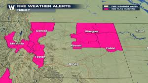 Montana Weather Map by Lodgepole Complex Fire Burns In Central Montana Weathernation