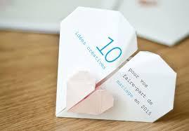 idã e cadeau 10 ans de mariage 10 idées créatives pour votre faire part mariage personnalisé