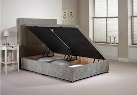 Divan Ottoman Beds by Luxan Har Fra Silv Vlvt Nd 26 Bed Sets