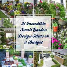 Images Of Small Garden Designs Ideas 31 Small Garden Design Ideas On A Budget Gardenoid