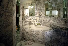 stone tile bathroom floor double clear glass shower bath furnished bathroom stone tile bathroom floor double clear glass shower bath furnished freestanding white oval bathtub