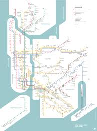 Myc Subway Map by Lucas Benarroch Redesigning The Nyc Subway Map