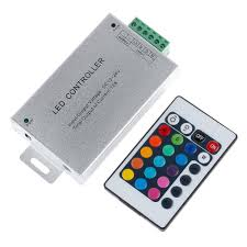 Rgb Led Light Strips by Discount Aluminum Led Rgb Amplifier And 24 Key Ir Remote
