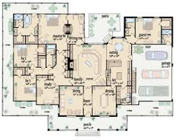 traditional style house plan 4 beds 4 baths 3388 sq ft plan 36