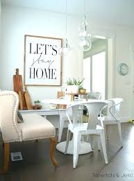 wall decor ideas for dining room farmhouse dining room wall decor farmhouse dining room ideas
