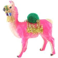 foster co festive llama ornament foster co polyvore
