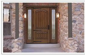 Stain For Fiberglass Exterior Doors Fiberglass Doors Patio Doors In Tucson Az American Openings