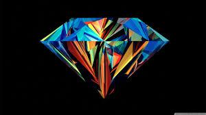 colorful diamond 4k hd desktop wallpaper for 4k ultra hd tv
