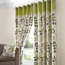 Green Curtain Pole Green Jakarta Lined Eyelet Curtains Dunelm Mill Window