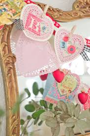 Valentine Home Decorations Domestic Fashionista Vintage And Handmade Inspired Valentine U0027s