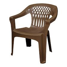 Plastic Wood Patio Furniture by Shop Patio Chairs At Lowes Com
