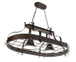 kitchen island pot rack lighting pot racks lights furniture lighted hanging kitchen design and with