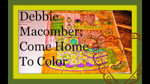coloring book the world of debbie macomber