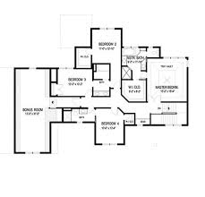 craftsman style house plan 4 beds 3 5 baths 2909 sq ft plan 56