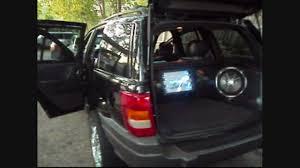 customized 2016 jeep cherokee custom sound system with fiberglass panels on the 2002 grand