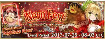 nero fest fate grand order wiki