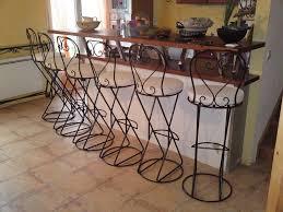 chaises en fer forg tabouret de bar en fer forgé sur mesure fer forge
