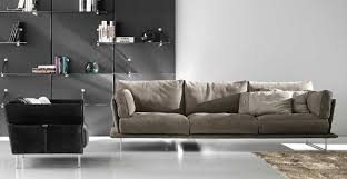 Madrid Leather Sofa by Modular Sofa Contemporary Leather 3 Seater Vessel Gamma