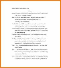 Reference Page For Resume Format Resume Reference List Template Template Examples