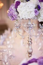White Centerpieces Elegant Lavender And White Wedding Centerpiece Mon Cheri Bridals