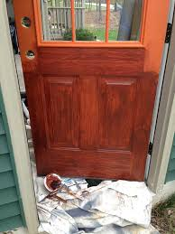 wood painting thrifty transformation how to paint a door to look like wood