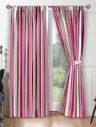 Pink Striped Curtains Stripe Blueberry Curtains Bedroom Pinterest