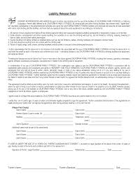 Bill Of Sale For Car Template Pdf by Free Liability Release Forms Pdf Template Form Download