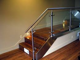 Glass Stair Rail by Twisted Metal Of Sacramento
