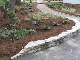 flagstone retaining wall ideas custom stonework amp