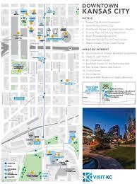 power and light district map kansas city downtown map maps pinterest kansas usa cities and