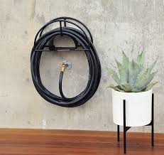 awesome garden hose wall mount garden hose reel wall mount the