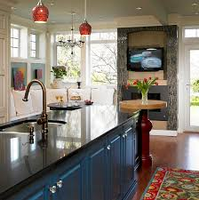 Kitchen Tv Ideas Tv Above Fireplace Design Ideas