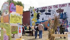 grand haven tribune the purpose of funky farm the