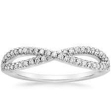 infinity diamond ring infinity diamond ring entwined brilliant earth