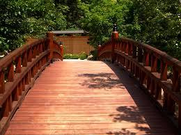 awesome backyard bridge architecture nice