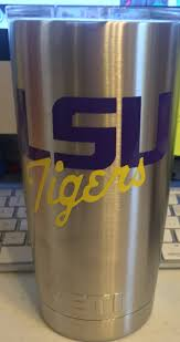 lsu alumni sticker lsu inspired decal for yeti tumbler with or without