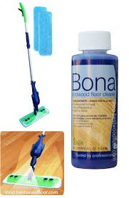 refillable spray mop kit with bona hardwood floor cleaner