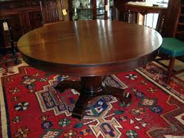 mahogany dining table federal empire style 5 leaves from