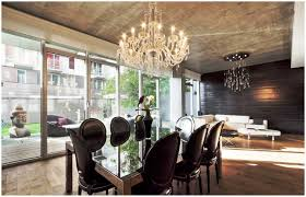 dining room crystal chandelier lighting modern chandeliers for