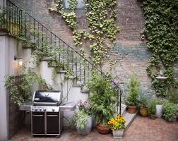 Nyc Backyard Ideas Before And After A One Month Makeover For Alison Cayne U0027s Nyc