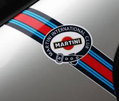 porsche martini logo martini club style u0027flashes u0027 logo stripes porsche fiat abarth