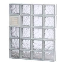 tafco windows 31 63 in x 31 63 in nailup2 wave pattern glass