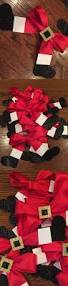 santa bows click pic for 20 diy christmas decorations for home