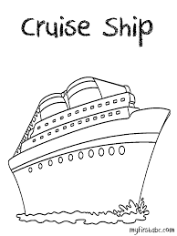 free cruise ship coloring ideas gallery coloring ideas