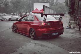 jdm mitsubishi evo car mitsubishi lancer evo x stance tuning lowered jdm